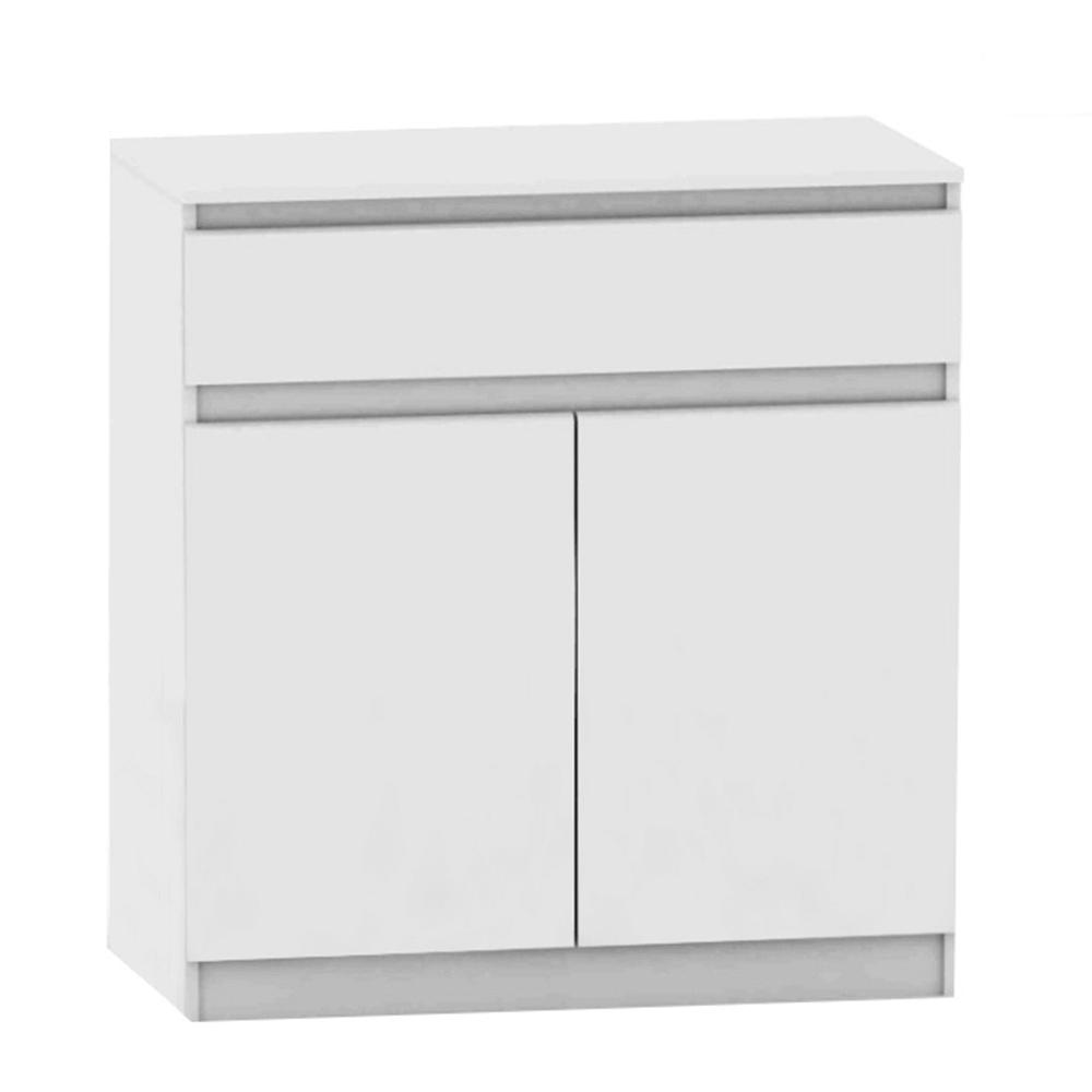 2 dverová komoda s jedným šuplíkom