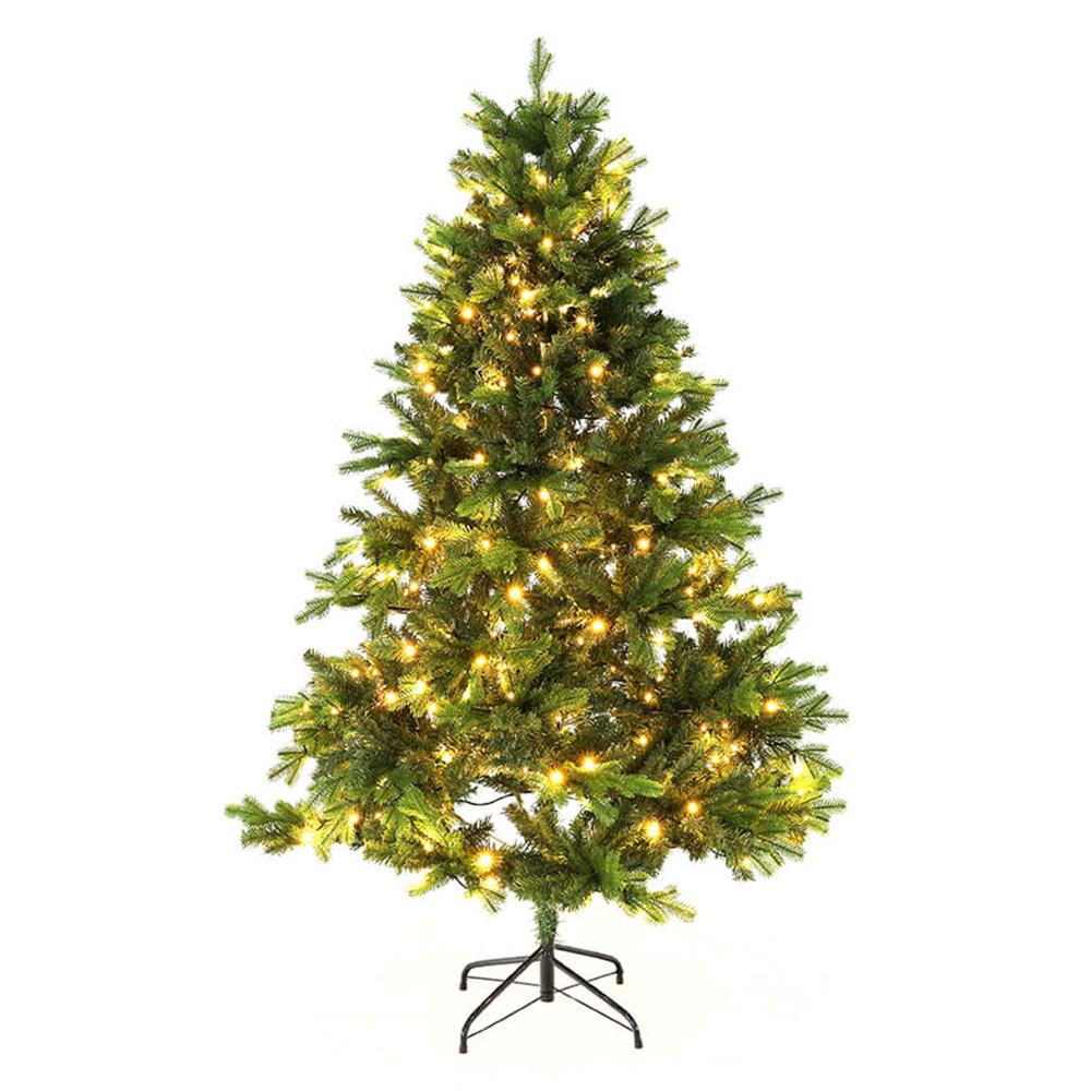 3D vianočný stromček so svetielkami