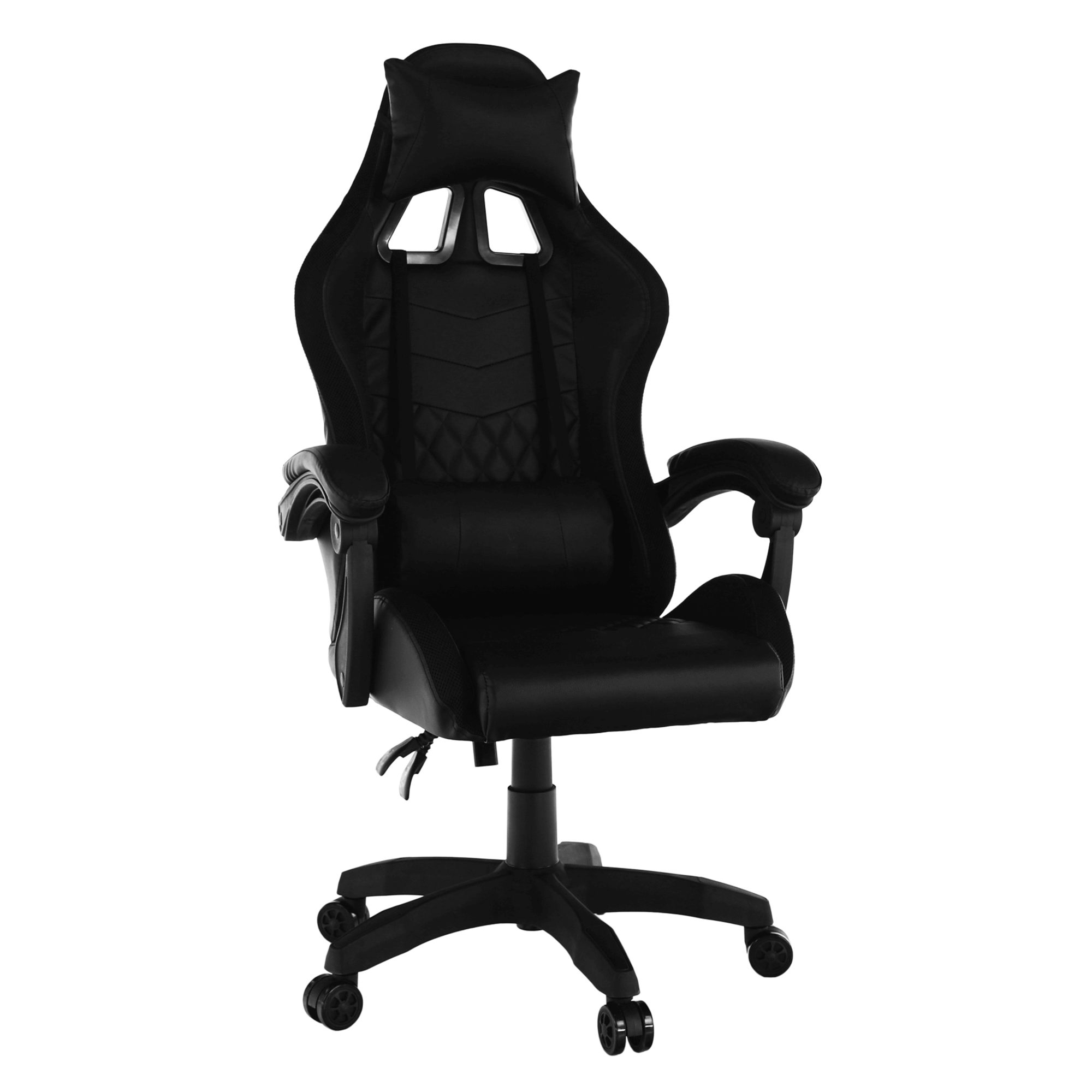 Kancelárske/herné kreslo s RGB LED podsvietením