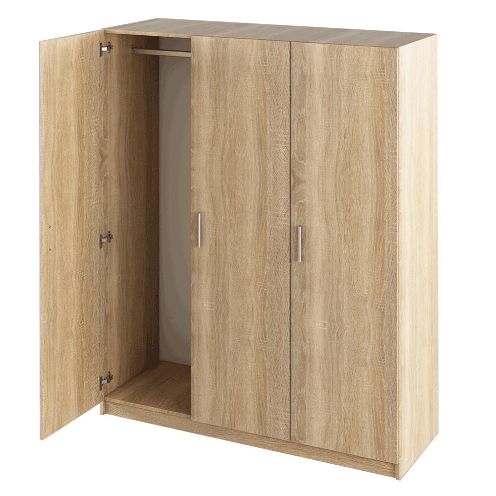 3-dverová skriňa