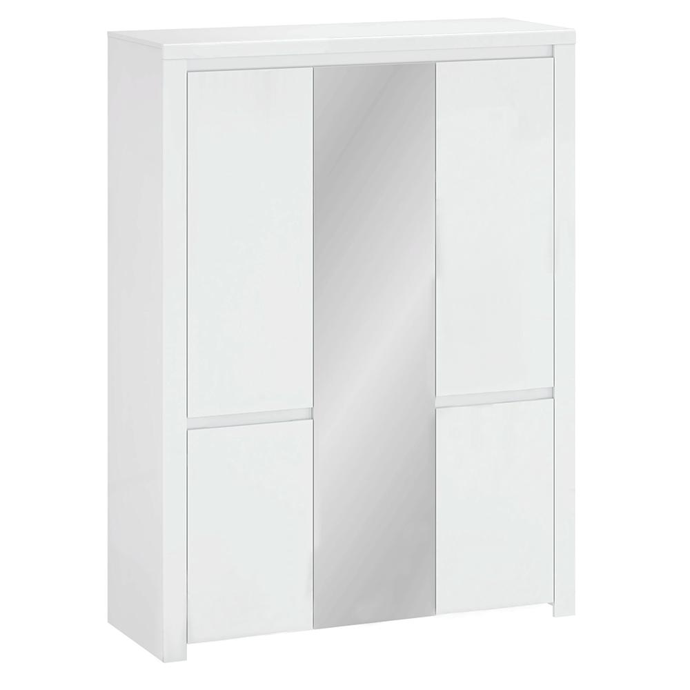 Skriňa 5D so zrkadlom